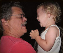 Kenny Hedgpeth and Grandson - 2010
